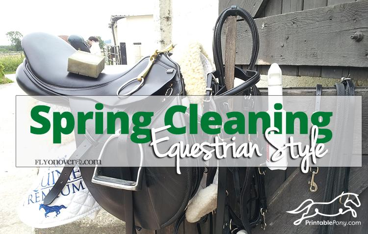 spring cleaning equestrian style