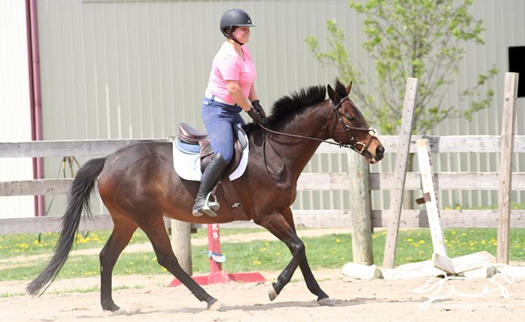 I love her canter
