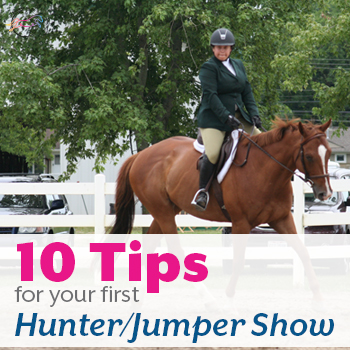 10 Tips for your First Hunter Jumper Show from The Printable Pony