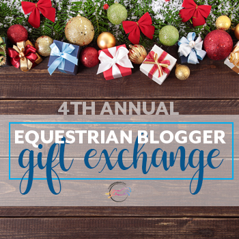 Fourth Annual Equestrian Blogger Gift Exchange