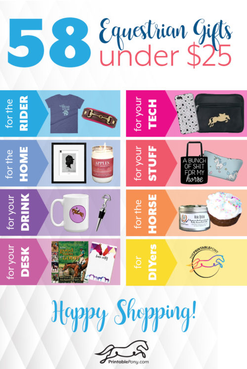 58 Equestrian Gifts Under $25 by The Printable Pony