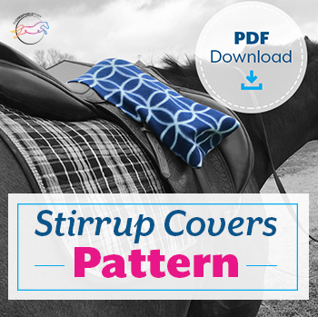 Stirrup Covers Pattern by The Printable Pony