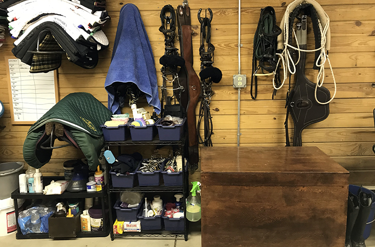 Creative Ways To Organize The Tack Room The Printable Pony